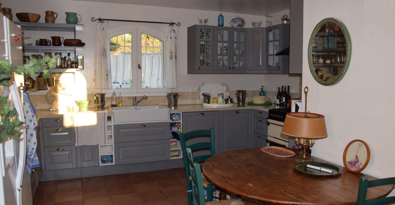 Location en provence d'une maison à Malemort-du-Comtat - cuisine